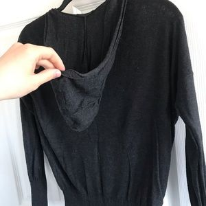 Tops - Dynamite light hooded sweater